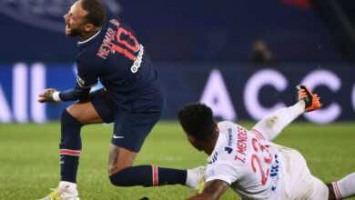 الدوري الفرنسي | تهديد عائلة لاعب ليون بسبب نيمار