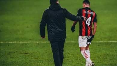 الدوري الايطالي | الإصابة تنهي عام اسماعيل بن ناصر مع ميلان