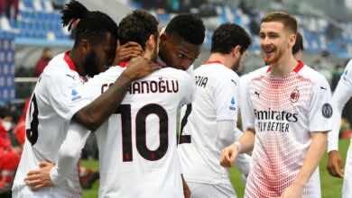 """ملخص مباراة ميلان وساسولو في الدوري الايطالي """"بيولي يكسر التعادلين"""""""