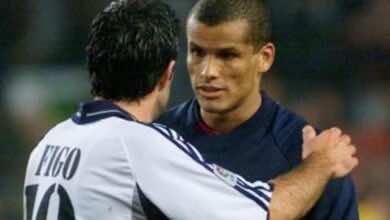 فيجو تسبب في انهاء حلم ريفالدو بالإنتقال من برشلونة إلى ريال مدريد!