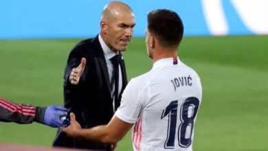 أخبار ريال مدريد   على غرار هازارد.. لوكا يوفيتش يخرج من إصابة ليدخل في اخرى!