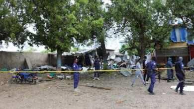 10 مصابين بهجوم انتحاري أمام ملعب كرة قدم وسط الصومال