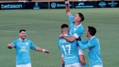 فرحة لاعبو إيبيزا بالفور على سلتا فيغو والتأهل الى الدور الثالث من كأس ملك اسبانيا (صور:twitter)