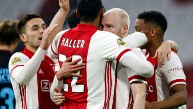 خطأ إداري يتسبب في عدم قيد هالر مهاجم أياكس في قائمة الدوري الأوروبي