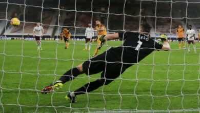 اهداف ارسنال وولفرهامبتون فى الدوري الانجليزي (صور:AFP)