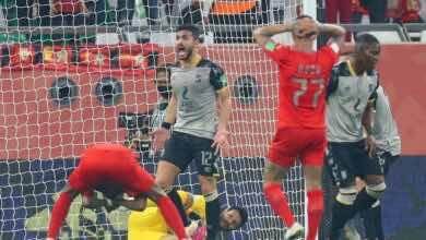 أيمن أشرف لاعب الأهلي المصري: حققنا المطلوب أمام الدحيل والقادم أفضل أمام بايرن