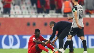 مدرب الدحيل القطري: خبرة كأس العالم سبب الخسارة من الأهلي المصري