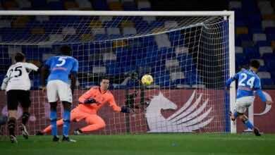 فيديو يوتيوب اهداف مباراة يوفنتوس ونابولي في الدوري الايطالي اليوم (صور:AFP)