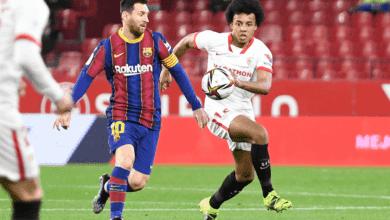 نتيجة مباراة برشلونة واشبيلية في كأس ملك اسبانيا