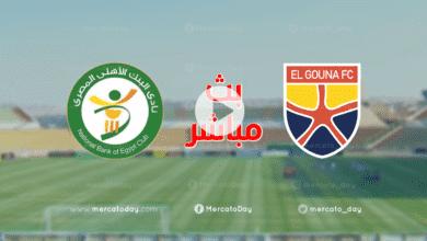 بث مباشر الجونة والبنك الاهلي في الدوري المصري We