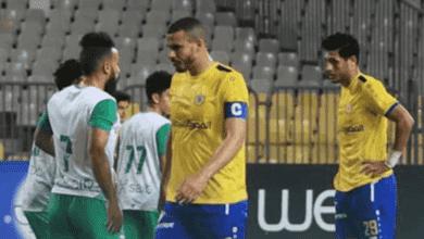صورة من مباراة الاسماعيلي والاتحاد في الدوري المصري - Presentation Sports