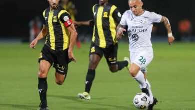 مباراة الاتحاد والاهلي في الدوري السعودي (صور:twitter)