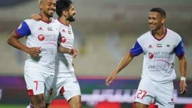 فيديو يوتيوب شاهد اهداف مباراة العين والشارقة في الدوري الاماراتي اليوم (صور:twitter)