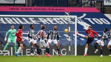 فيديو يوتيوب اهداف مانشستر يونايتد ووست بروميتش في الدوري الانجليزي (صور:twitter)