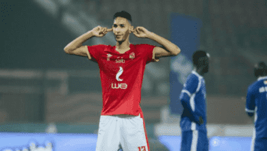مدافع الاهلي المصري ومنتخب المغرب بدر بانون
