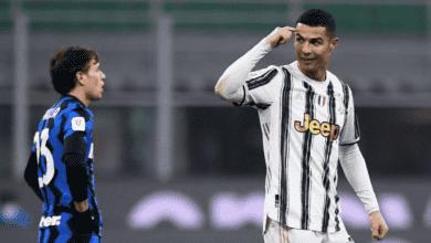 كريستيانو رونالدو يقود يوفنتوس لهزيمة انتر ميلان في ذهاب نصف نهائي كأس ايطاليا 2021