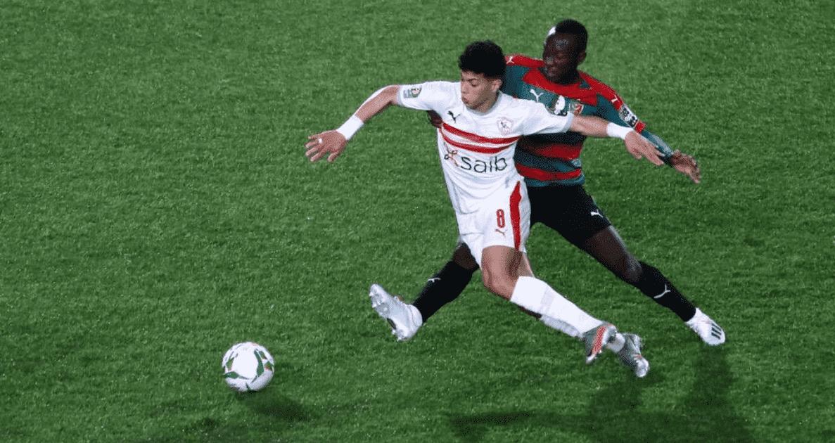 الزمالك يسقط في فخ التعادل السلبي امام مولودية الجزائر في افتتاح مجموعات دوري ابطال افريقيا 2021