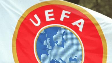 شعار الاتحاد الاوروبي لكرة القدم يويفا - صور Getty
