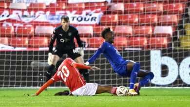 مباراة تشيلسي وبارسنلي فى كأس الاتحاد الانجليزي (صور:AFP)
