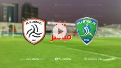 بث مباشر | مشاهدة مباراة الشباب والفتح في الدوري السعودي