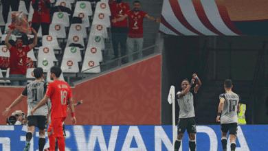 والتر بواليا مهاجم الأهلي : سنخوض مباراة بايرن ميونخ بدون ضغوط! - صور Afp