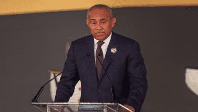 جدل حول إعادة أحمد أحمد إلى سباق رئاسة الاتحاد الأفريقي الكاف! صور Afp