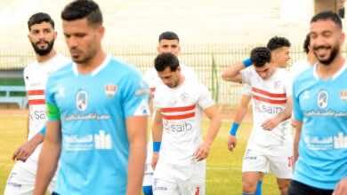 ترتيب الدوري المصري بعد نتائج مباريات اليوم وهزيمة الزمالك أمام المحلة