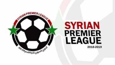 جدول ترتيب الدوري السوري الممتاز بعد الجولة