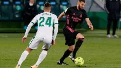 موعد مباراة ريال مدريد القادمة ضد إلتشي فى الدوري الاسباني (صور:AFP)