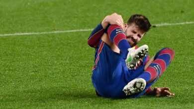 برشلونة يؤكد إصابة بيكي في الركبة!