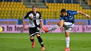 فيديو يوتيوب | شاهد اهداف مباراة الانتر وبارما في الدوري الايطالي (صور:AFP)