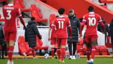 نتيجة مباراة ليفربول وفولهام فى الدوري الانجليزي (صور:AFP)