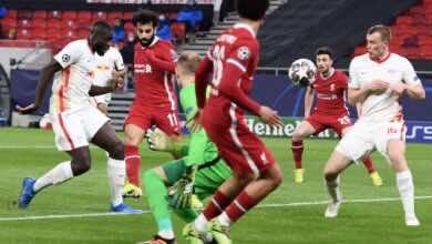 فيديو يوتيوب | شاهد اهداف مباراة ليفربول ولايبزيج في دوري ابطال اوروبا (صور:AFP)