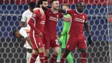 نتيجة مباراة ليفربول ولايبزيج في دوري ابطال اوروبا (صور:AFP)
