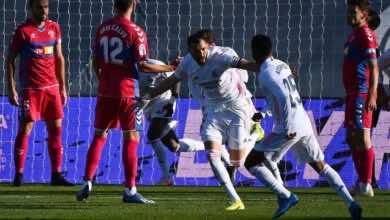 نتيجة مباراة ريال مدريد والتشي فى الدوري الاسباني (صور:AFP)
