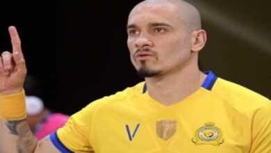 اخبار النصر   لاعب النصر السابق يرحب بعودة مايكون