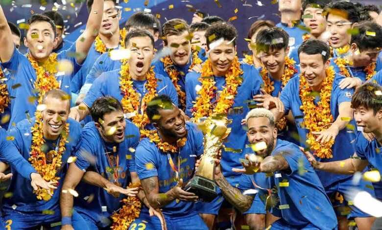 استبعاد جيانغسو الصيني من دوري أبطال آسيا
