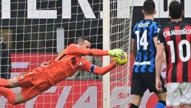 ضربة قوية لمدرب انتر ميلان قبل الجولة الجديدة في الدوري الايطالي
