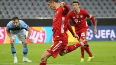 فيديو يوتيوب | شاهد اهداف مباراة بايرن ميونخ ولاتسيو في دوري ابطال اوروبا