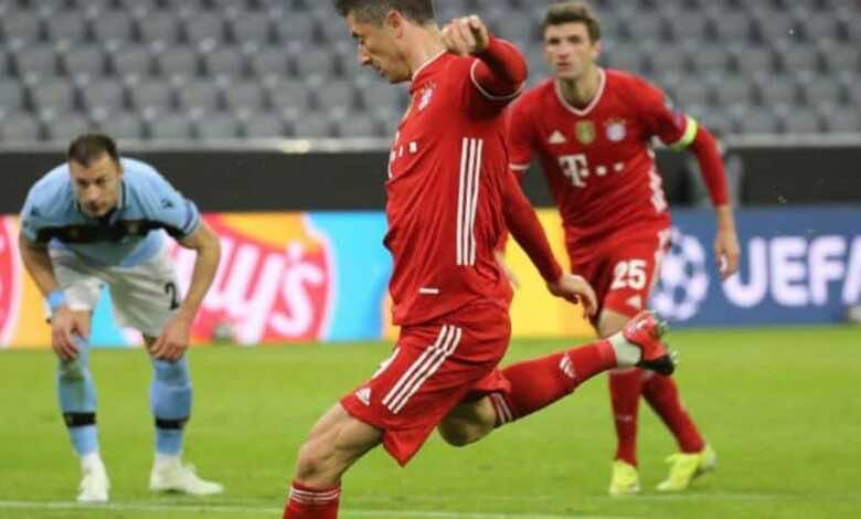 فيديو يوتيوب   شاهد اهداف مباراة بايرن ميونخ ولاتسيو في دوري ابطال اوروبا
