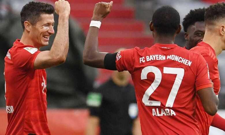 بايرن ميونخ يرفض سفر ليفاندوفسكي ودافيد ألابا إلى إنجلترا في تصفيات كأس العالم