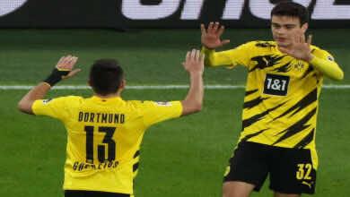 إحتمالية مشاركة لاعبان دورتموند جيوفاني رين ورفائيل جيريرو أمام إشبيلية بدوري الأبطال