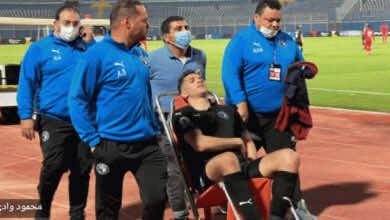 هاني سعيد يؤكد إصابة محمود وادي لاعب بيراميدز بكسر وشرخ في ضلعين!