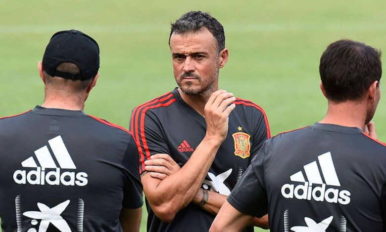 منتخب اسبانيا .. لويس إنريكي .. تصفيات كأس العالم 2022 ..