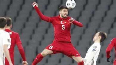 مشاهدة اهداف مباراة منتخب تركيا ومنتخب لاتفيا فى تصفيات كأس العالم 2022 - فيديو