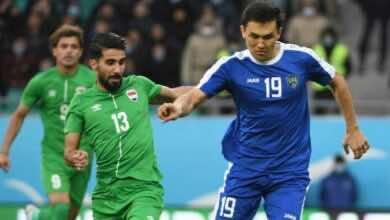 نتيجة مباراة منتخب العراق ومنتخب أوزبكستان ضمن استعدادات تصفيات كأس العالم