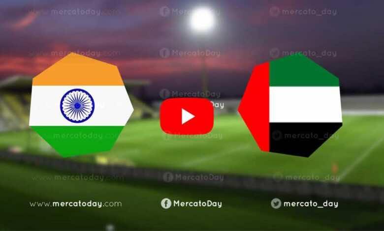 """مشاهدة مباراة منتخب الامارات ومنتخب الهند الودية في بث مباشر اليوم """"كورة لايف"""""""
