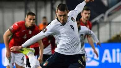 مشاهدة اهداف مباراة منتخب ايطاليا ومنتخب بلغاريا في تصفيات كأس العالم 2022 - فيديو