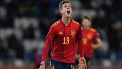 نتيجة مباراة منتخب اسبانيا ومنتخب جورجيا فى تصفيات كأس العالم 2022
