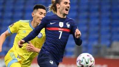 مشاهدة اهداف مباراة منتخب فرنسا ومنتخب كازاخستان في تصفيات كأس العالم - فيديو